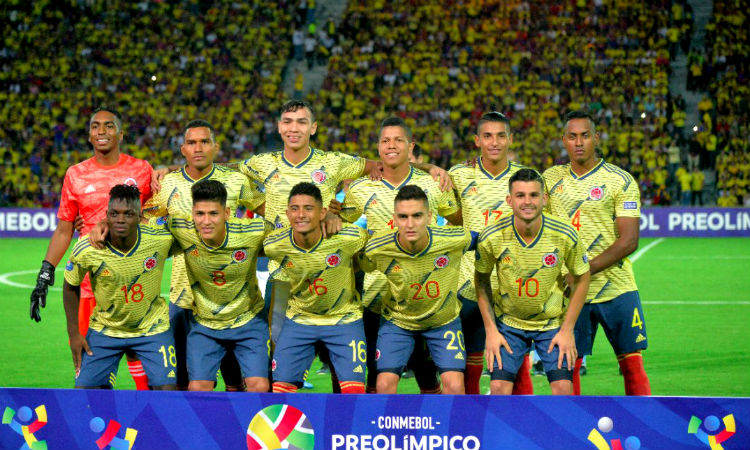 Así le va a la Selección Colombia en el camino para llegar a los Juegos Olímpicos de Tokio