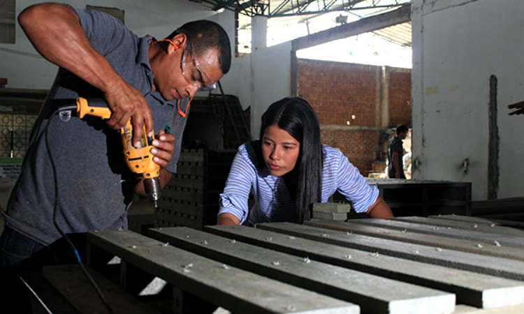 Colombianos crean madera plástica, una alternativa para reciclar y reutilizar