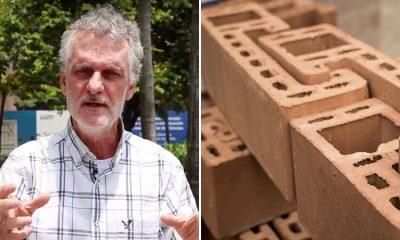 Ladrillos geométricos, la idea colombiana que reduce los riesgos durante un sismo
