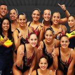 ¡Histórico! Colombia se coronó campeón suramericano de natación artística por equipos