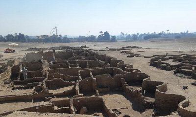 Hallan en Egipto ciudad pérdida de más de 3.000 años de antigüedad