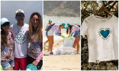 Empresa recupera plástico de océanos para fabricar ropa ¡No usan agua!