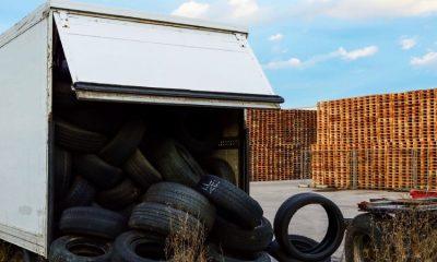 Inauguran planta de procesamiento de llantas usadas para reducir la contaminación