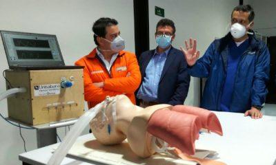 6 ventiladores fabricados en el país fueron donados al hospital de Quibdó