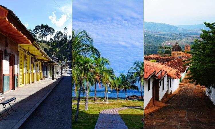 Pueblos románticos colombianos que invitan a quedarse a vivir para siempre