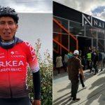 Nairo Quintana abrió su primera tienda y con museo incluido para revivir sus hazañas