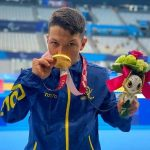 Nelson Crispín se colgó el oro en la natación paralímpica ¡Tiene récord mundial!