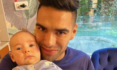 Jedidiah Falcao García heredó la pasión por el fútbol, ¡hijo de 'El Tigre' sale pintado!