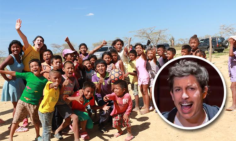 La historia detrás de la construcción del colegio para los niños de La Guajira y que Alejandro Riaño apoya