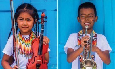 La historia de la primera orquesta filarmónica indígena de Colombia