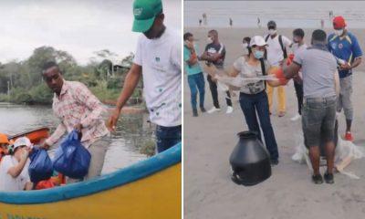 Servientrega siembra esperanza por medio de un intercambio ecológico en Tumaco