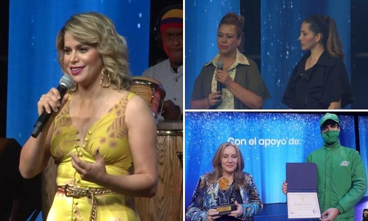Colombianas fueron homenajeadas en la versión 2020 de los Premios Mujeres de Éxito ¡Querer es poder!