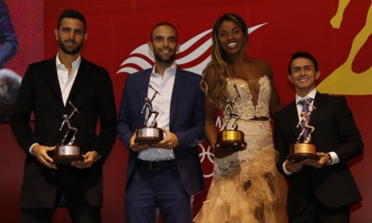 Ibargüen, Farah, Cabal y Jossimar: los mejores deportistas de 2018 para el Comité Olímpico Colombiano