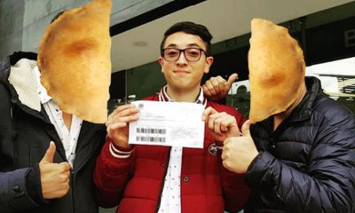 Estos Youtubers pagaron la multa de 883 mil pesos por comprar una empanada