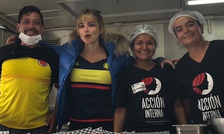 El gran trabajo de Johana Bahamón con las reclusas del país ¡Un ejemplo a seguir!