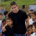 Un centenar de niños en Barranquilla y otras partes del país son apoyados por James Rodríguez