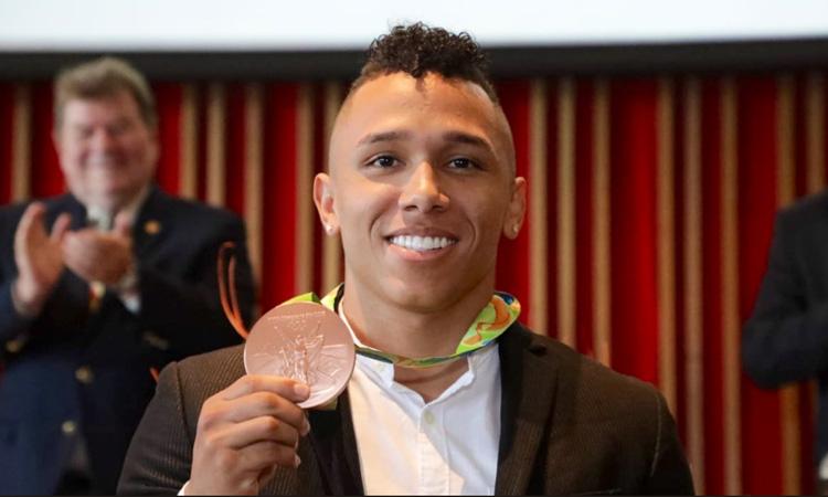 Colombia tiene un nuevo medallista olímpico, la historia de vida de Luis Javier Mosquera