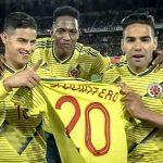 El cariño de los jugadores de la Selección por Juan Fernando Quintero ¡Pronta recuperación!