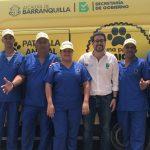Barranquilla puso en funcionamiento la primera patrulla animal de todo el país
