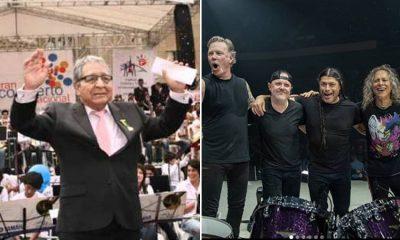La historia detrás de la canción colombiana que interpretó Metallica en un concierto en España