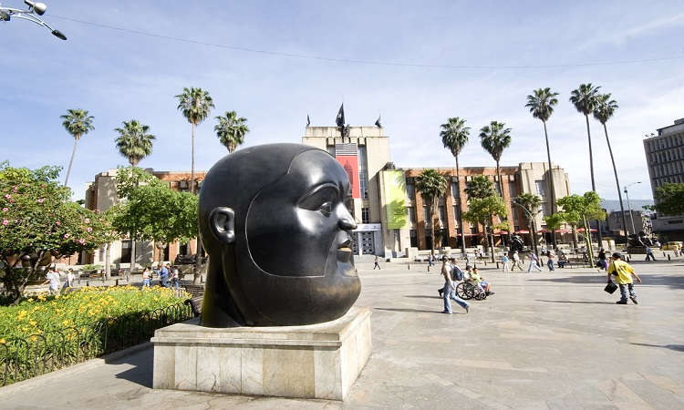 Image result for plaza botero