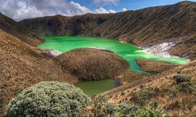 Esta es la laguna color esmeralda que pocas personas conocen ¡se encuentra en Colombia!