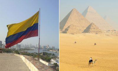 La bandera de Colombia se izará en las Pirámides de Egipto por el día de la independencia