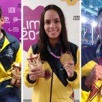 Colombia ya tiene cinco medallas de oro en los Juegos Parapanamericanos de Lima ¡Un gran orgullo!