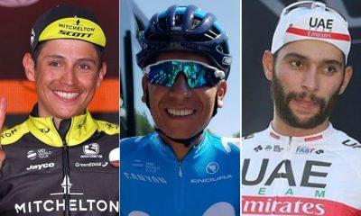 Estos son los 'escarabajos' colombianos que estarán en la Vuelta a España ¡Vamos por el título!