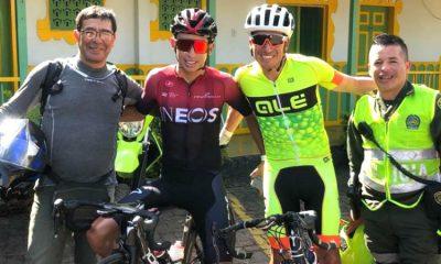 Egan Bernal hace una nueva hazaña en Colombia, entrenó durante 9 horas y subió La Línea