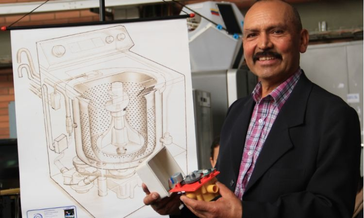 El albañil que hizo una obra maestra: un invento que se proyecta a salvar el planeta