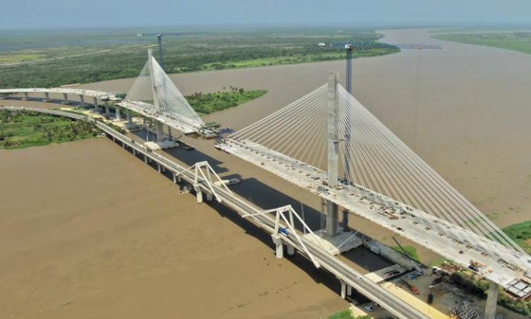 Colombia tendrá uno de los puentes más anchos de Latinoamérica ¡Conoce más sobre el 'coloso del Caribe'!