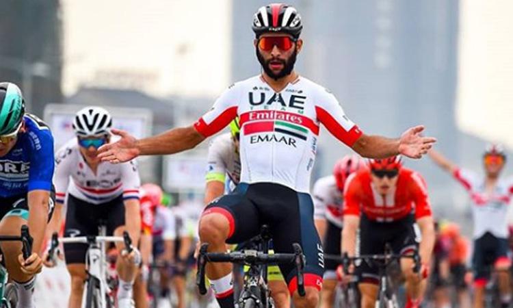 Fernando Gaviria se convirtió en el ciclista con más victorias en la historia de Colombia