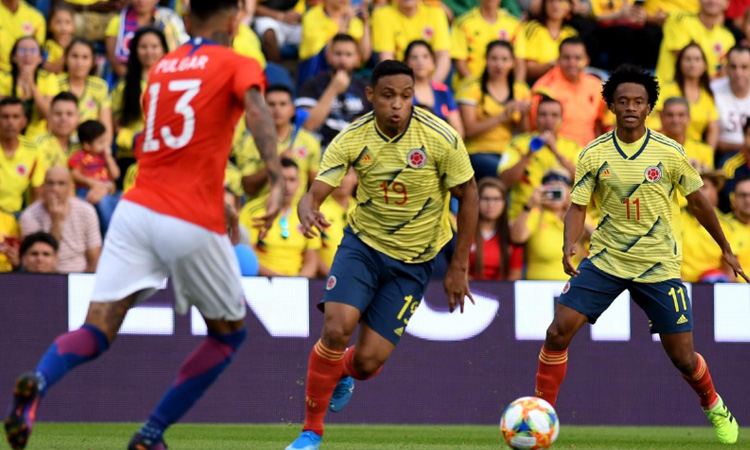 La Selección Colombia jugó un gran partido y empató contra Chile