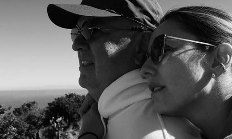 Claudia Bahamón recordó un sueño que materializó junto a su padre La Nota Positiva