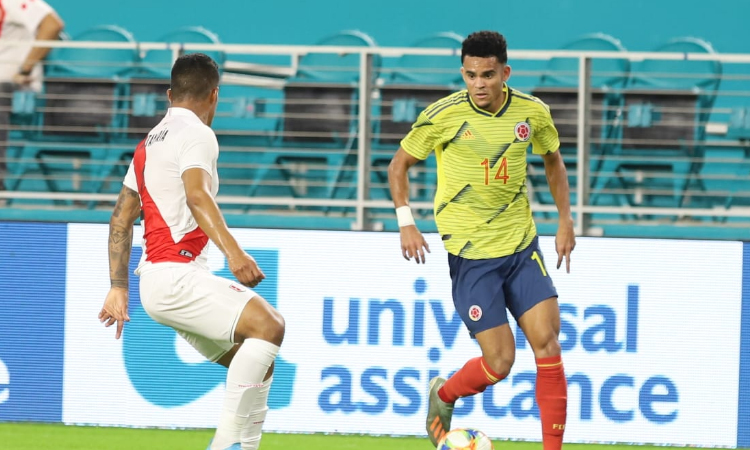 En un disputado partido la Selección Colombia empató contra Perú La Nota Positiva