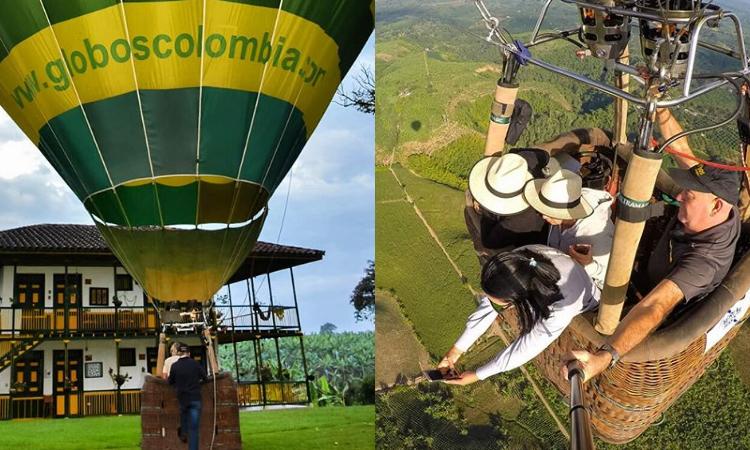 ¿Alguna vez soñaste con viajar en globo? Ahora es posible hacerlo en Colombia La Nota Positiva