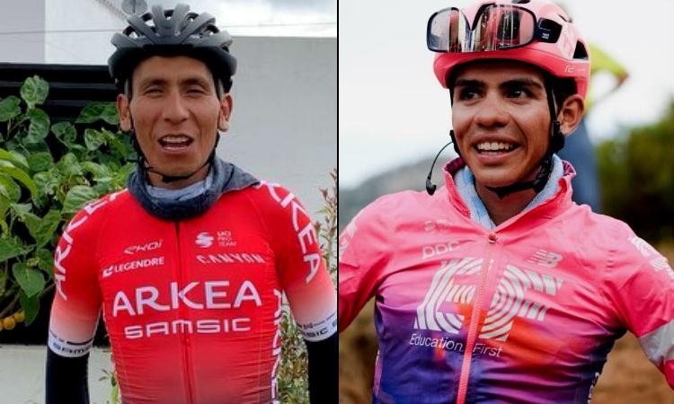 Nairo Quintana y Sergio Higuita empezaron el año ganando, ¡vivan los campeones!