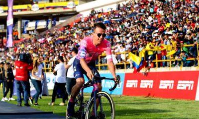 El equipo de Rigoberto Urán gana en conjunto la primera etapa del Tour Colombia 2.1