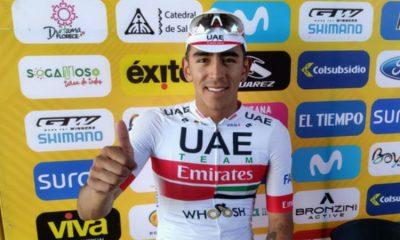 ¡El que es caballero repite! Juan Sebastián Molano gana otra etapa del Tour Colombia