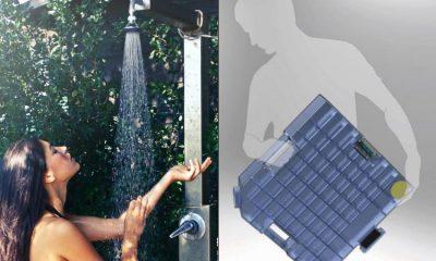 Colombiano crea sistema de reciclaje de agua que ahorra mínimo 80 litros diarios