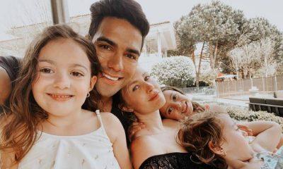 """Radamel Falcao mostró la primera imagen de su hijo varón y lo llamó """"El mini tigre"""""""