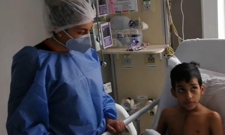 En medio del COVID-19 así fue el primer trasplante de corazón a un niño en Colombia