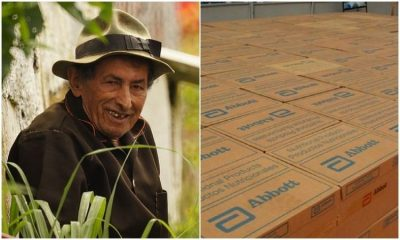 Generosa donación de Abbott para los adultos mayores en Colombia durante la pandemia