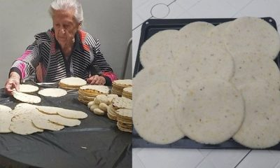 Anciana de 103 años creó exitoso negocios de arepas en pleno COVID-19