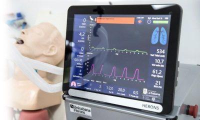 Colombia arranca pruebas de ventiladores hechos en el país para pacientes de COVID-19