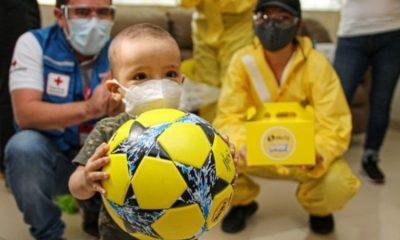 Efecty hace donación a niños vulnerables con productos hechos en Boyacá ¡Doble gol!