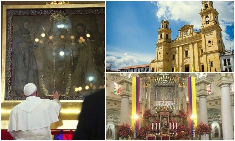 Los 7 momentos históricos de la Virgen de Chiquinquirá, la patrona de los colombianos
