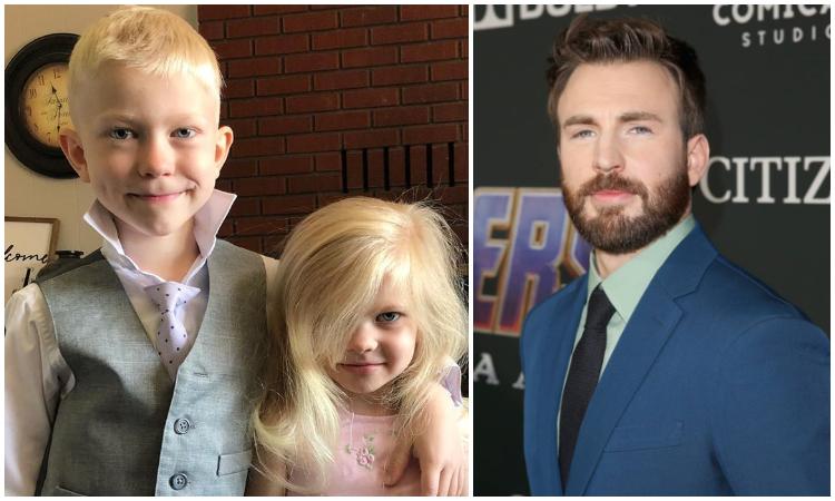 Chris Evans le dará su escudo de Capitán América a niño que salvó a su hermana