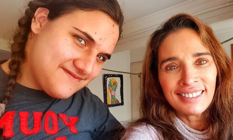 El tierno baile de Luly Bossa con su hijo Ángelo que sufre distrofia muscular